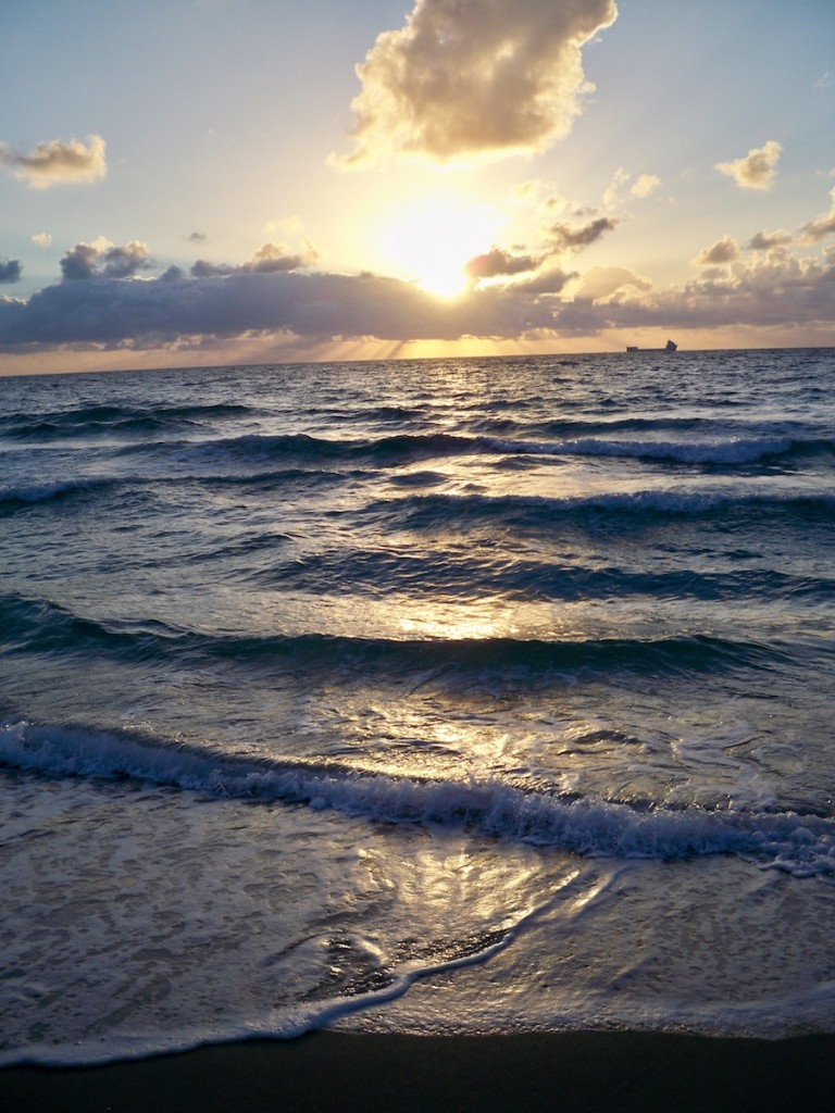 Sunrise in Miami Beach