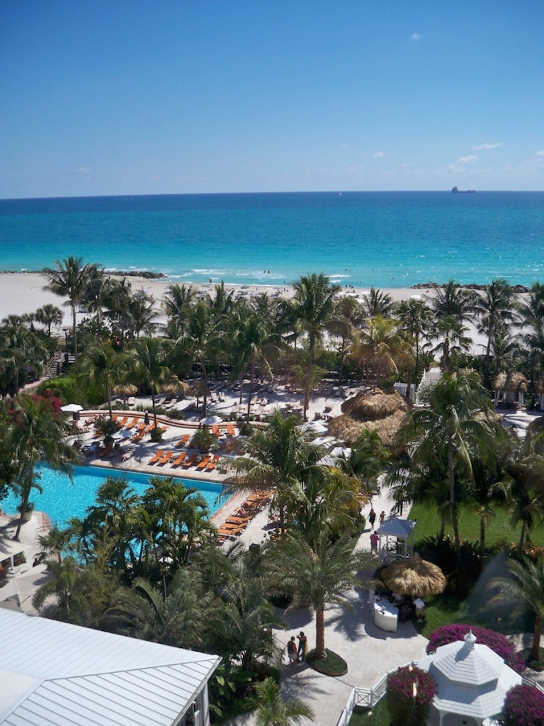 Garten & Pool im The Palms & Spa Miami Beach