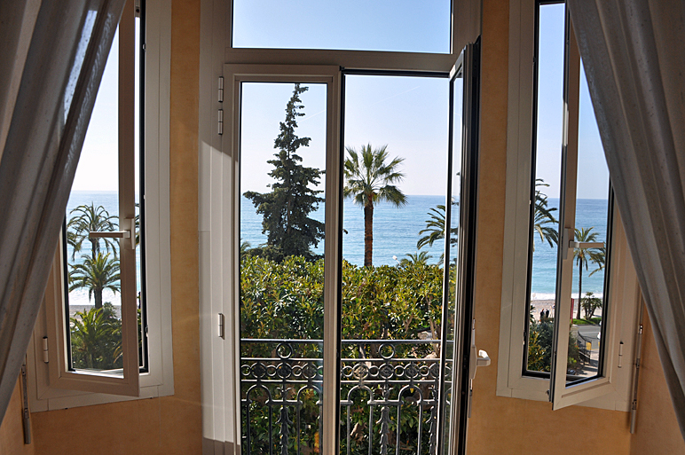 Zimmerausblick Hotel Le Royal Westminster, Menton