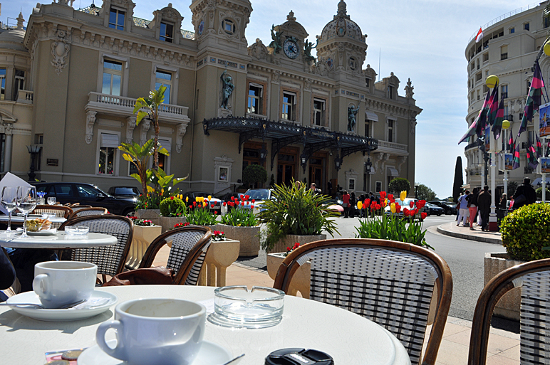 Café am Casino in Monte Carlo