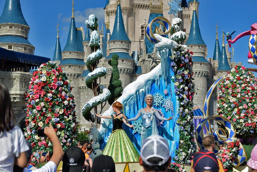 disney world orlando frozen