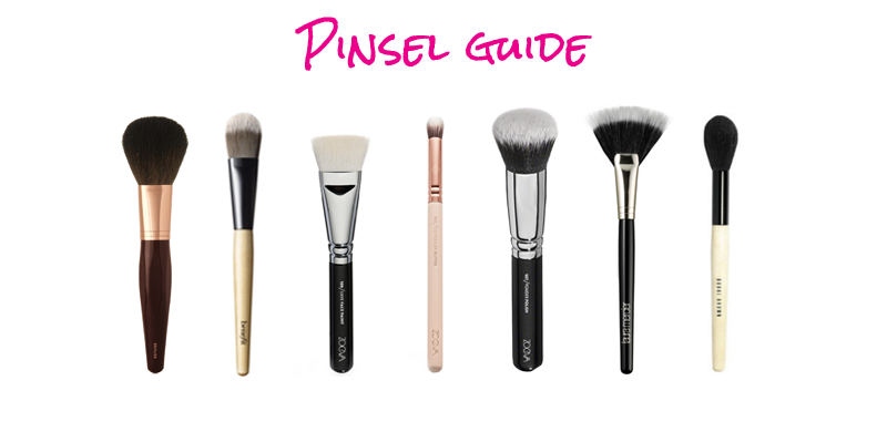 makeup pinsel guide-Pinsel