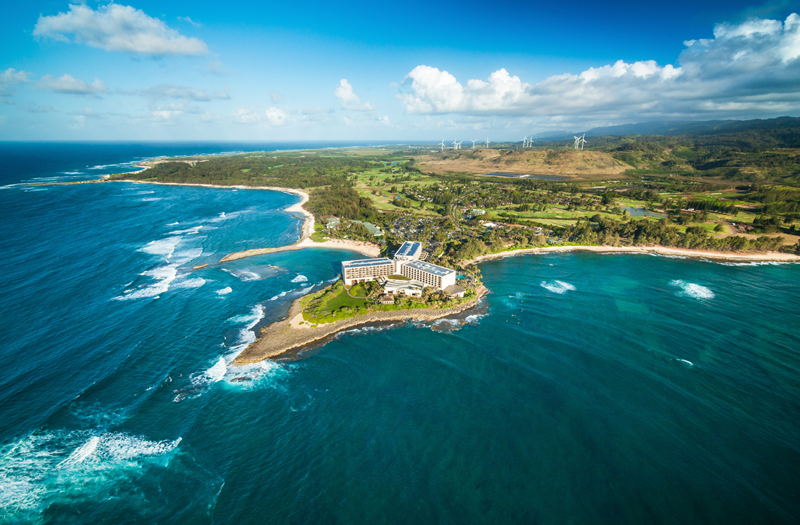 TurtleBayResort_AerialFacingLand_MC2015