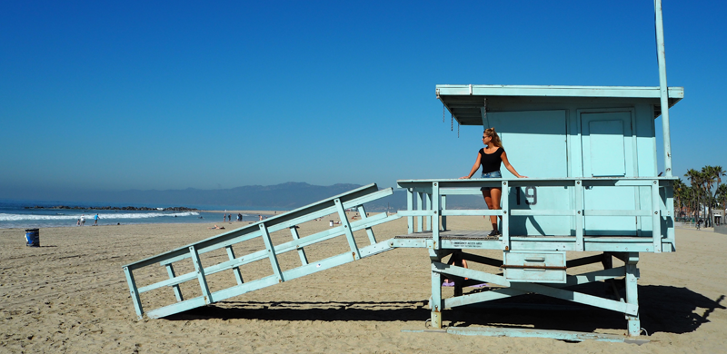 kurztrip nach los angeles - venice beach