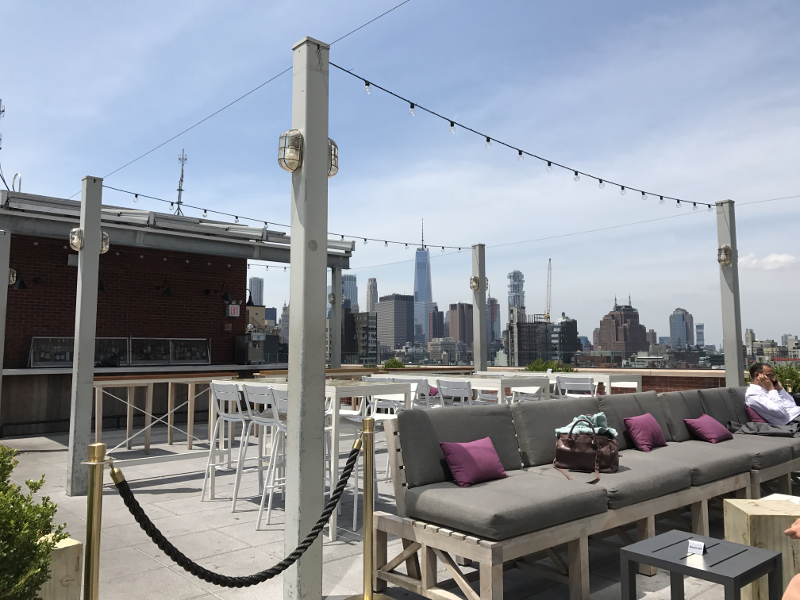 24 Stunden in New York-Mr. Purple Rooftop Bar