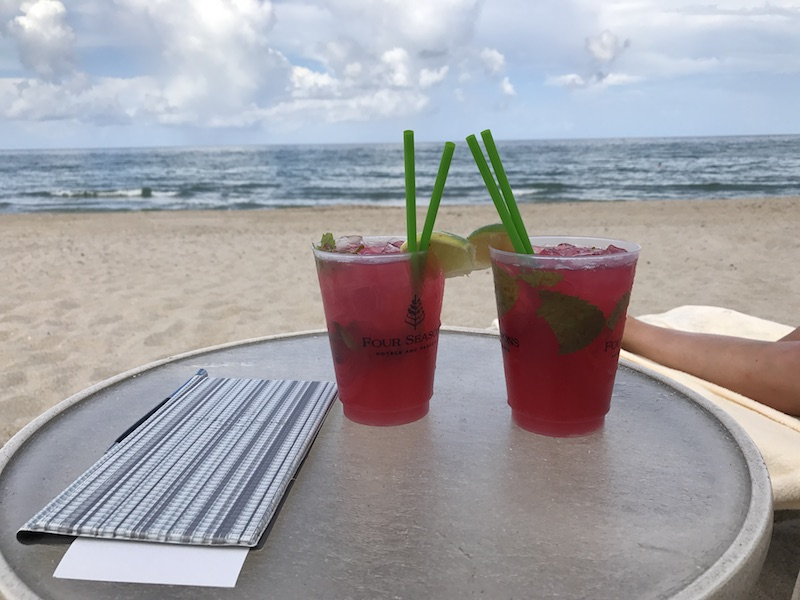 Bye Bye Juli 2017-Monatsrueckblick-Juli 2017-Cocktails Four Seasons Hotel Palm Beach