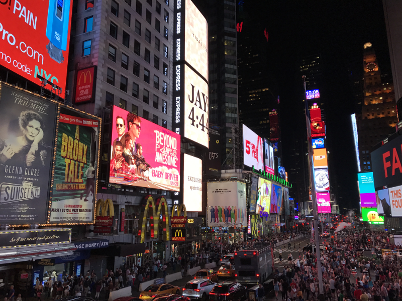 New York Times Square-Tipps New York-New York in 24 Stunden-24 Stunden in New York