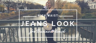 Outfit: High Waist Jeans & Cardigan