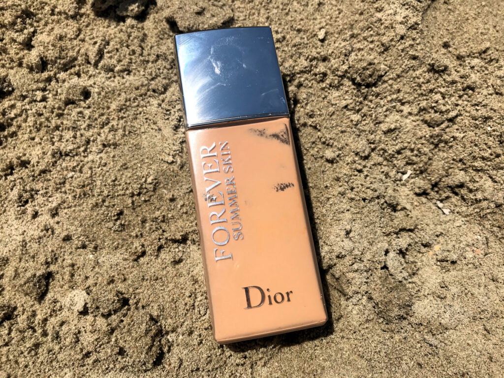aufgebraucht august 2020 - dior forever summer skin make up