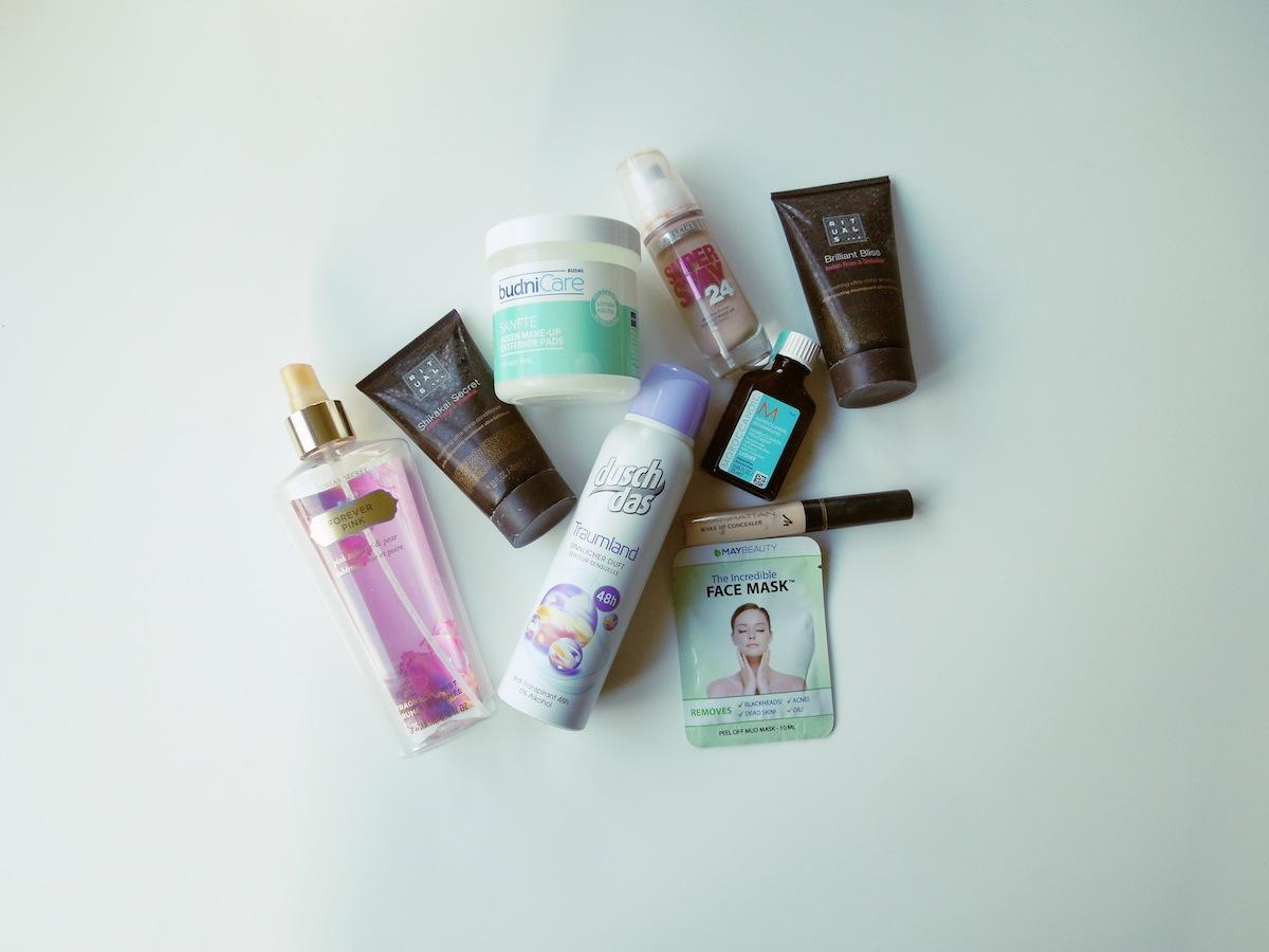 Aufgebraucht - November - Aufgebraucht #1115 - Schminke - Beauty - Make-up - Deo - Bodyspray - Düfte - Facemask - Concealer - Haaröl - Rituals