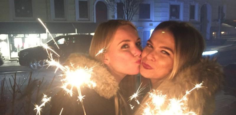 Silvester - 2015 - 2016 -NYE - Happy New Year - Fashion - Kleider - Champagner - Pailletten - Spitze - Blond